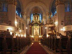 Innenraum St. Michaelis Kirche