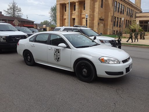 IL- Illinois Commerce Commission Police 2013 Chevy Impala