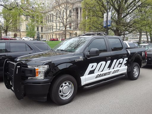 IL- Granite City Police 2017 Ford F150