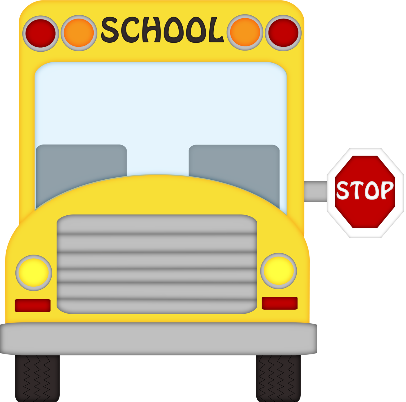Bus Stop Clipart 2