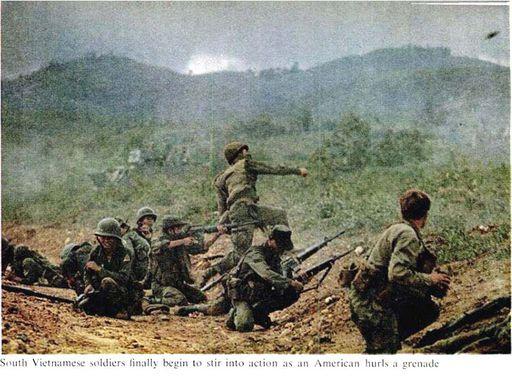 2-LIFE Magazine pictures of NVA ambush outside DAK TO