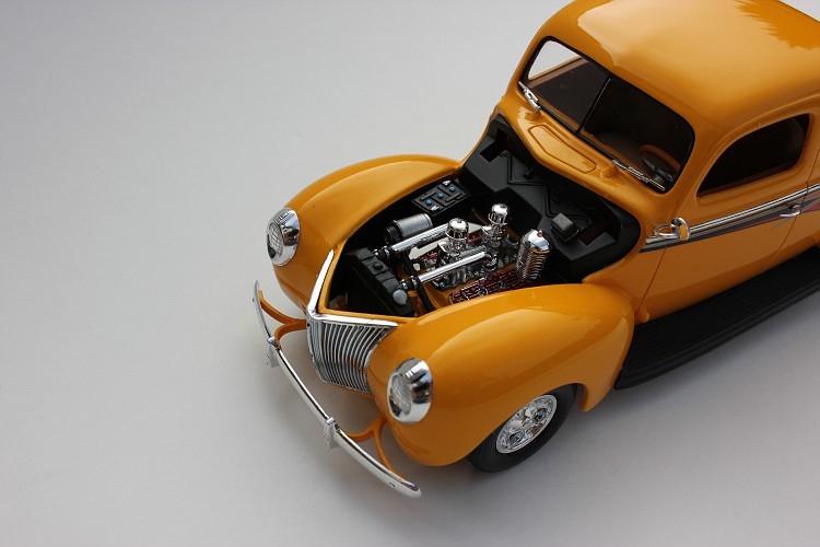 Revell 1940 Ford Coupe Street Rod Evell40FordSAreviewproject2015-vi