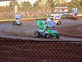 Steve Kinser leads heat two 006