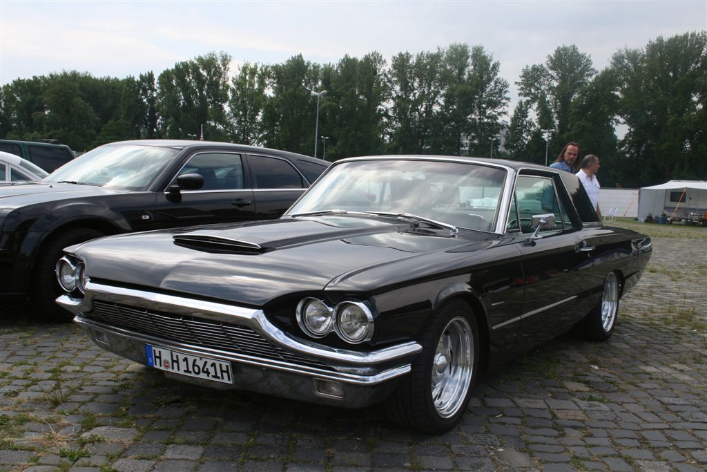 photo 1965 ford thunderbird 01 street nats 2010 hannover germany album. Cars Review. Best American Auto & Cars Review