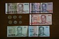 Thailand Currency Notes Coins