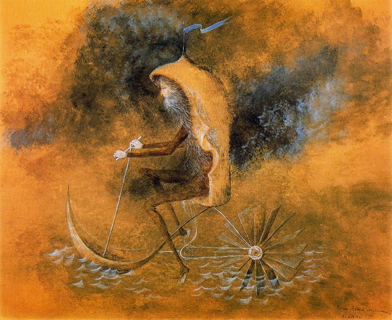making reality an illusion in visit to the plastic surgeon by remedios varo