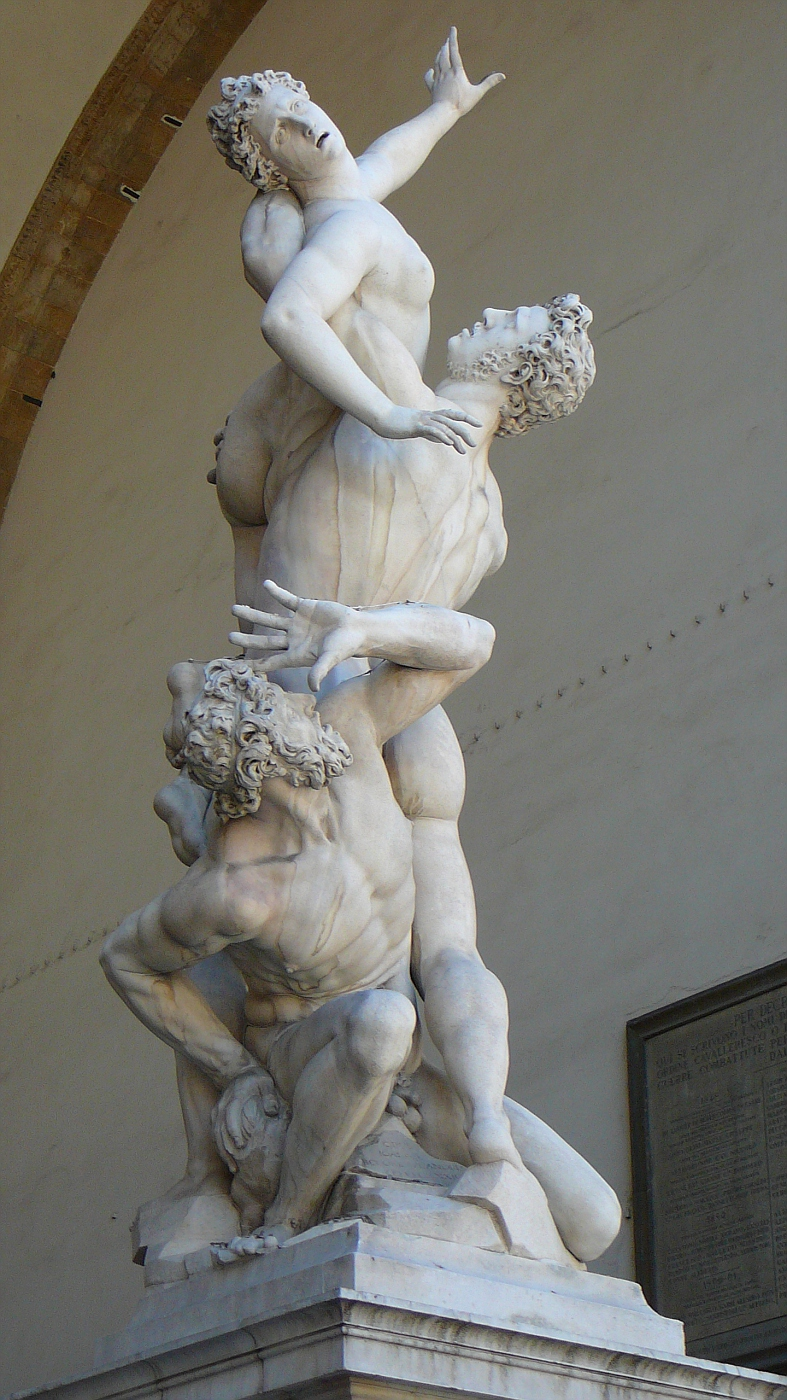 """""""The Rape"""" Statue in Florence"""