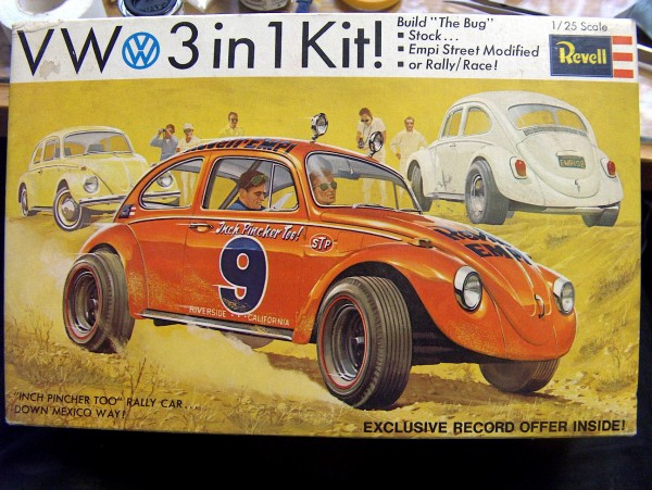 Revell Kit What Model Year Volkswagen Is This 1968 Or