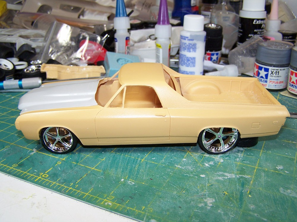 New To Resin Jf 72 El Camino Car Aftermarket Resin Model