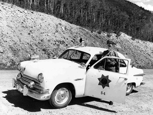 CO- Colorado State Patrol 1951 Ford