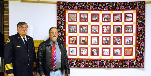 2015-6-01 WINDSOR LOCKS HERITAGE WEEK - FIREFIGHTERS QUILT - PRESENTATION - 04
