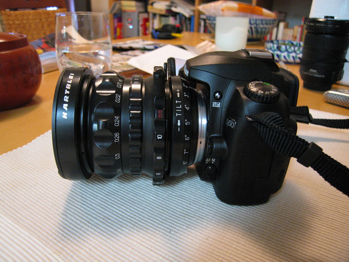 Ukrainian tilt-shift lens on Nikon