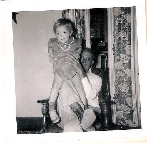 98-Frank Chambers and Mom as baby