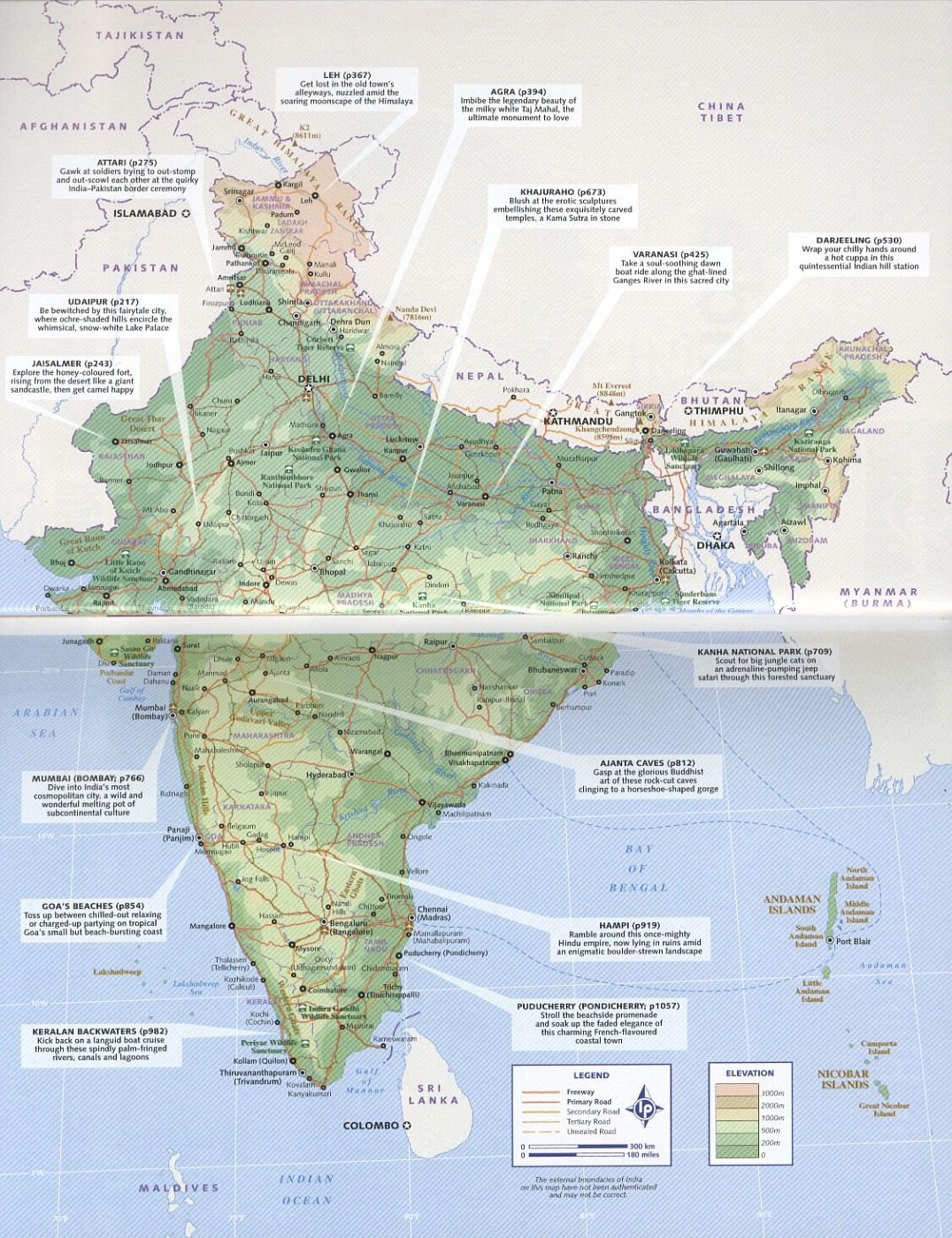 Photo lonely planet india guidebook page map resources for india lonely planet india guidebook page map gumiabroncs Gallery