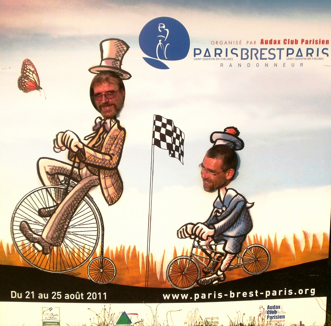Manfred & Andreas train to ride PBP  :o)