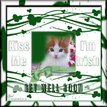 Get Well Soon-gailz-Kiss Me Im Irish QP by Cassie