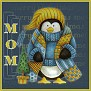 Stay Warm Penguin - Mom