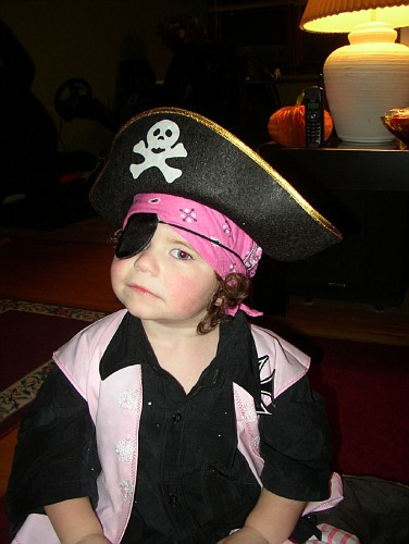 Toren Halloween Pirate
