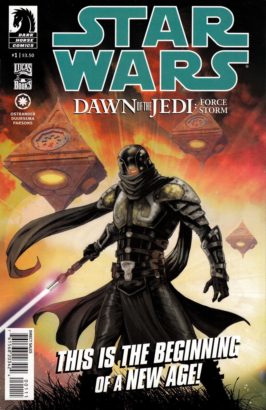 Dawn of the Jedi Force Storm #1