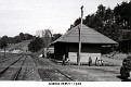 1946 - The old Railroad Depot at Norma