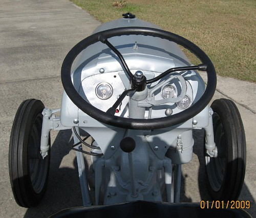 9n Ford Tractor >> Possible to install a water temp gauge on a 9n ...