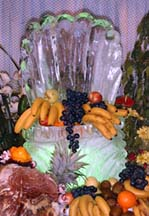 Basket/Oyster of fruit at the Gala Buffet