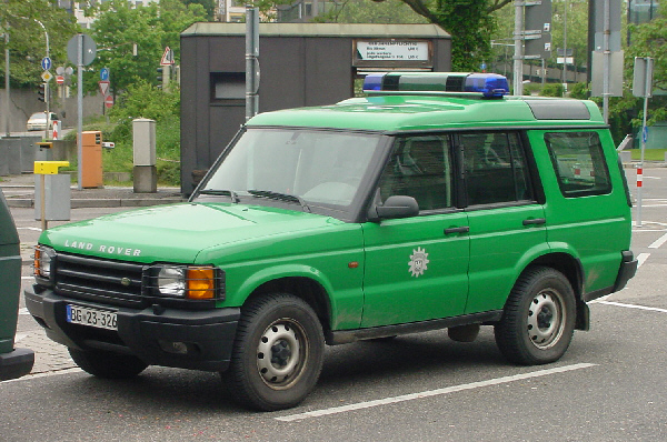 Germany - Land Rover Discovery, Bundesgrenshutz